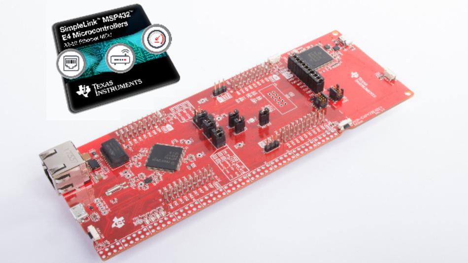 SipleLink-Mikrocontroller MSP432E4 mit Ethernet-Schnittstelle