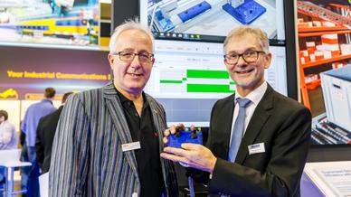 Wolfgang Schenk und Christoph Müller, beide von Beck IPCWolfgang Schenk und Christoph Müller