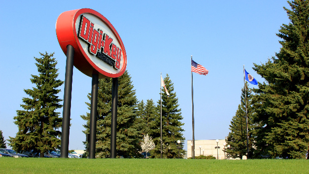 Das Digi-Key Headquarter in Thief River Falls.