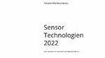 Studie »Sensor-Technologien 2022« erschienen