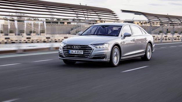 Im neuen Audi A8 sind auch Chips von Infineon verbaut.