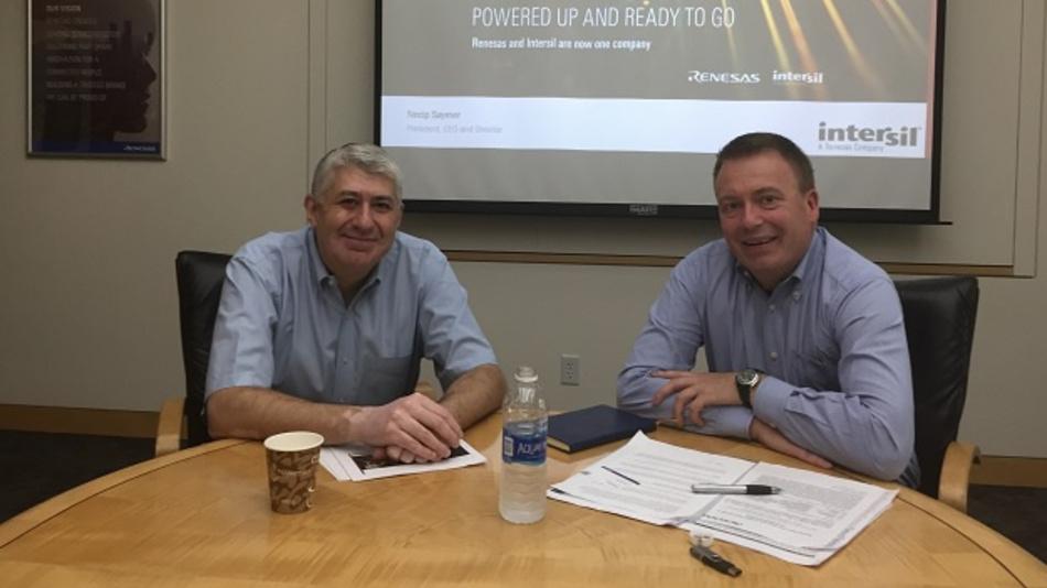 Renesas-USA-CEO Dr. Necip Sayiner traf DESIGN&ELEKTRONIK-Redakteur Frank Riemenschneider in seinem Büro in Milpitas, Kalifornien.