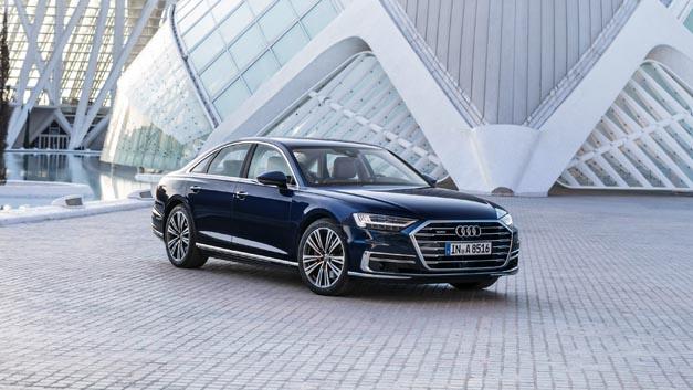 Der Audi A8 fährt hochautomatisiert nach Level 3 – auch dank künstlicher Intelligenz.
