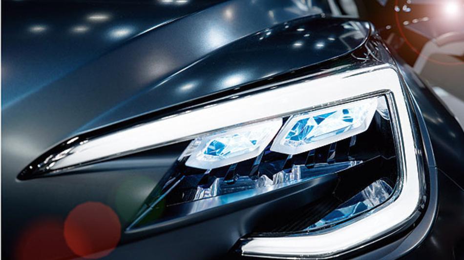 Intelligente Ansteuerung von Systemen mit hochauflösenden Lichtquellen.