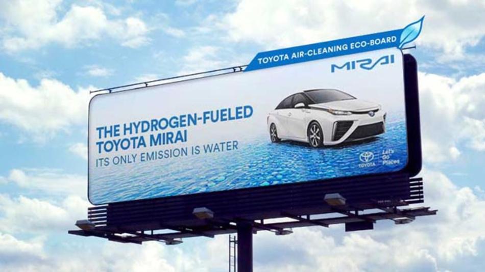Wasserstoff hat das Potenzial, den Anteil der erneuerbaren Energien besonders im Verkehrssektor zu erhöhen. Noch gibt es relativ weniger Wasserstofffahrzeuge auf der Straße, wie etwa den Toyota Mirai, zu sehen.