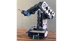 Bild 1: Im 5-Achsen-Knickarmroboter sendet ein Raspberry PI TCP/IP-Tickets an die Servomotoren.