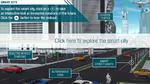 Interaktive Grafik zu Smart Cities