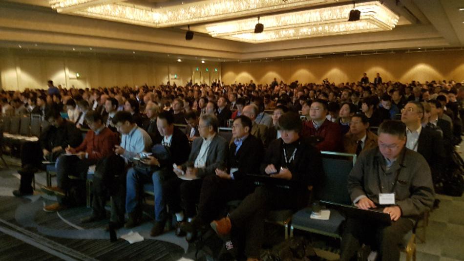 Rund 1700 Teilnehmer kamen 2017 zur IEDM nach San Francisco.