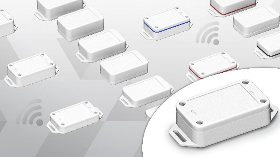 Dank eingeformter Aufnahme für die Integration eines Druckausgleichselements eignet sich Boplas Sensorgehäuse auch für den Außeneinsatz.