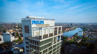 Philips Firmensitz in den Niederlanden