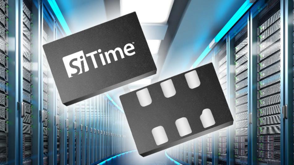 Die hohe Frequenzstabilität von bis zu ±10 ppm über den gesamten Temperaturbereich zeichnet die beiden MEMS-Oszillatoren von SiTime aus.