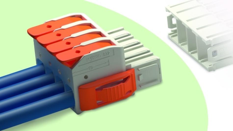 Mit den MCS Maxi 16 bietet Wago Steckverbinder, die werkzeuglose Handhabung durch den Hebel ermöglichen.