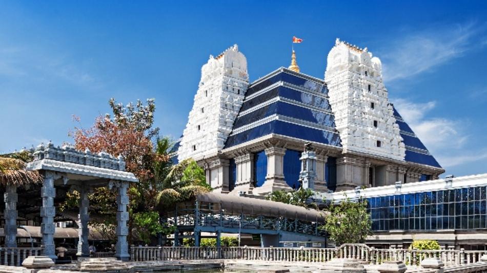 Tradition und Moderne treffen sich in Bangalore, dem Zentrum der IT-Industrie in Indien.