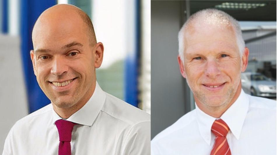 Keynote-Sprecher auf dem 3.Anwenderforum Stromversorgung: Michael Heinemann, Phoenix Contact Power Supplies (l.), und Hermann Püthe, inpotron Schaltnetzteile (r.).