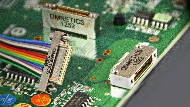 Bild 1. Nano-D-Steckverbinder von Omnetics