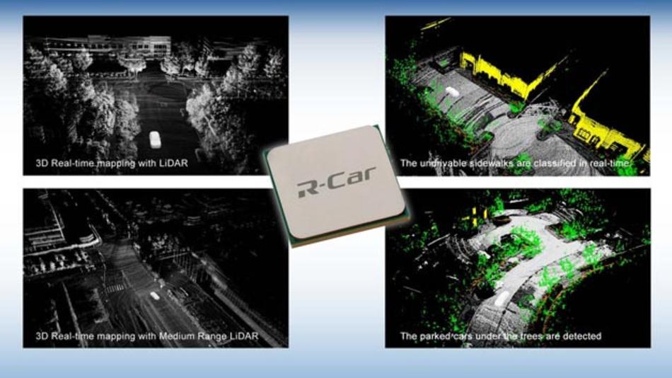 Kooperation zwischen Renesas Electronics und Dibotics: Eine gemeinsam entwickelte offene Lidar-Lösung erweitert die Plattform Renesas autonomy.