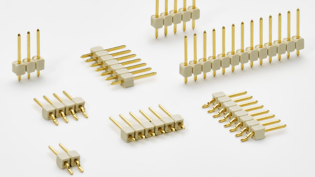 Stiftleisten für LED-Anwendungen
