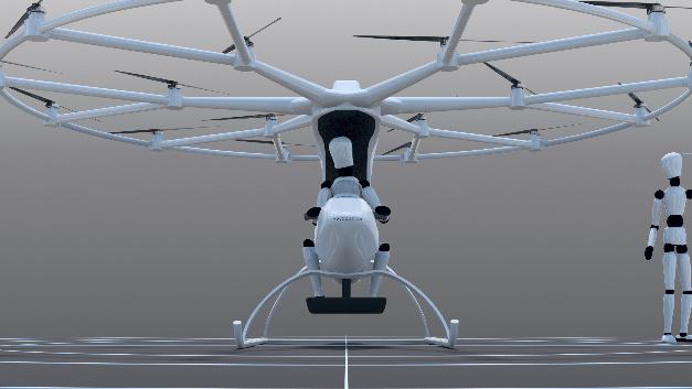 An der Technik mangelt es offenbar nicht mehr: Florian Reuters von 18 elektrischen Rotoren angetriebener und neun Batterien gespeister Volocopter hat seinen Jungfernflug hinter sich und ist in diesem Herbst publikumswirksam über Dubai geschwirrt.