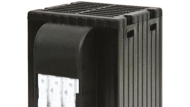 Eine Luftleistung von 30 m3/h durch das integrierte Gebläse gewährleistet den Schutz vor Kondensation.