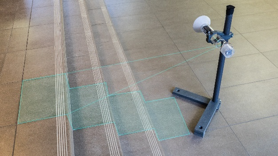 Radar-on-Chip-Sensor zum Scannen der Umgebung für die elektronische Steuerung z. B. von Beinprothesen
