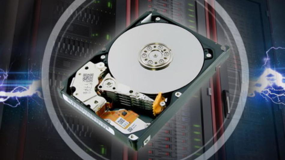 Die Speicherkapazitäten der HDDs von Toshibas AL15SE-Serie reichen von 600 bis 2400 GByte.