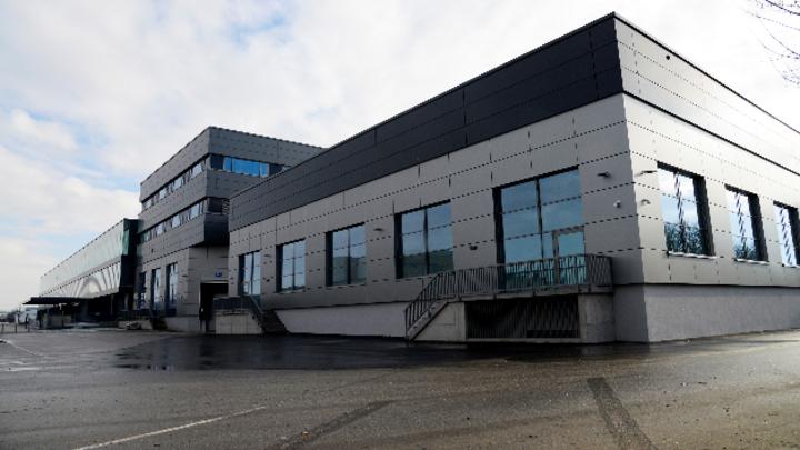 Das neue Gebäude der EV Group