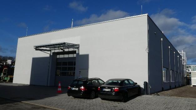 Rund 850 qm umfasst die neue Produktionshalle in Herrenberg