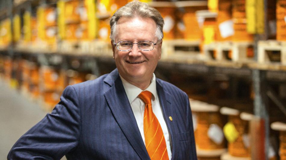 Will mit den Übernahmen die Stellung von Lapp in der Kabelkonfektionierung und Automation ausbauen sowie die Marktposition in Europas Norden und Osten stärken: Andreas Lapp, Vorstandsvorsitzender der Lapp Holding.