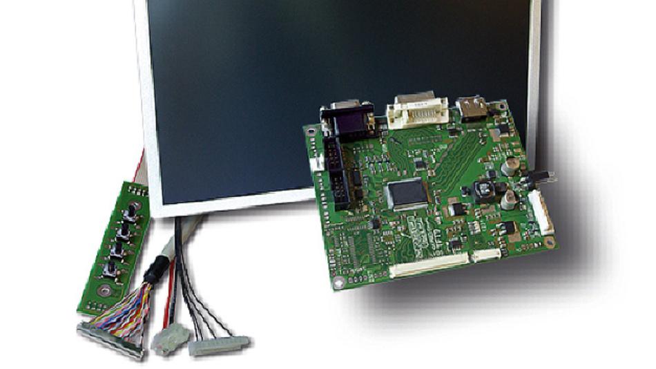 Für Betriebstemperaturen von -10 bis +60 °C hat GEPRO seine anwendungsspezifischen TFT-Kits ausgelegt.