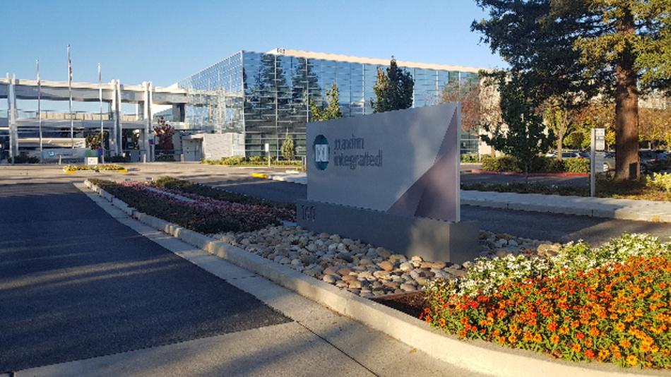 Die Unternehmenszentrale von Maxim Integrated im kalifornischen San Jose.