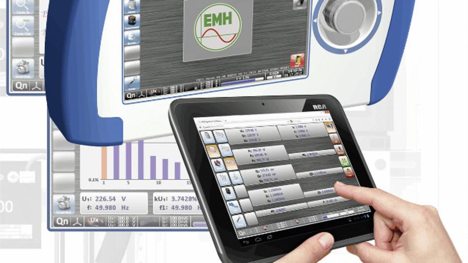 Konzepte für Smart Cities und Smart Energy erfordern flexible und mobile Messgeräte, die EMH auf der diesjährigen E-World präsentiert.