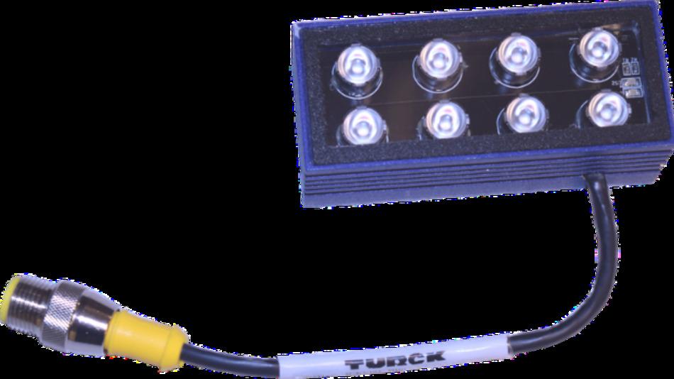 Mit einer integrierten Steuerung ausgestattet sind die LED-Beleuchtungen der Baureihe LM75 von Smart Vision Lights.