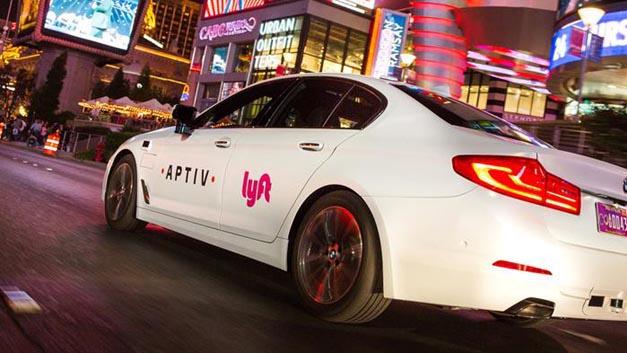 Aptiv und Lyft bieten zur CES einen Mitfahr-Service mit automatisierten Fahrzeugen an.