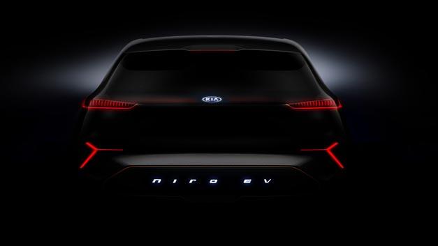 Kia zeigt auf der CES in seiner Studie Niro EV, erstmals Fahrzeugvernetzung auf Basis von 5G.
