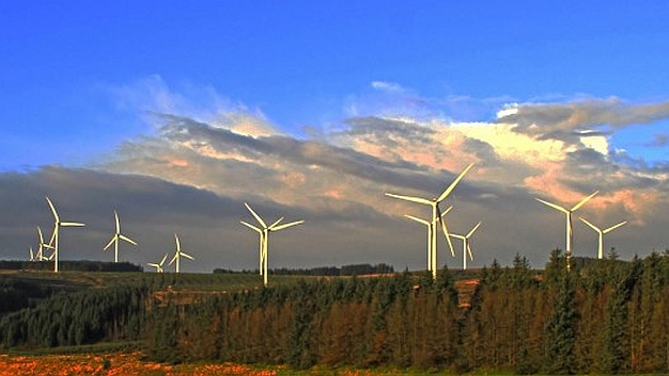 Windenergie-Anlagen in Betrieb