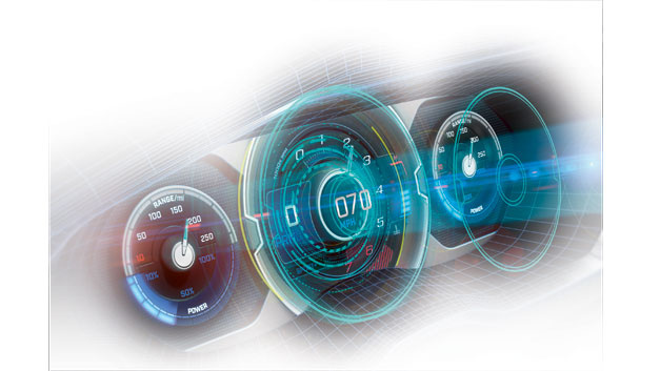 Bildschirmtechnologie mit intelligenten Kompositionen.