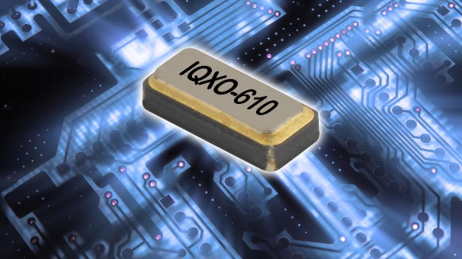 Lasten von bis zu 15 pF steuert IQDs 32-kHz-Oszillator an.