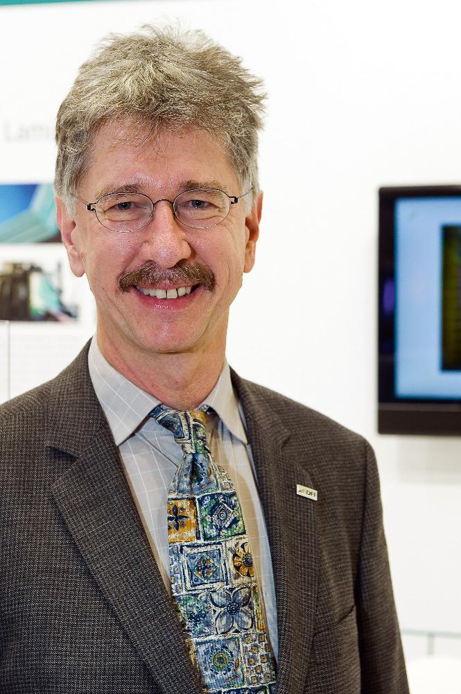Prof. Dr. Blankenbach von der Hochschule Pforzheim.