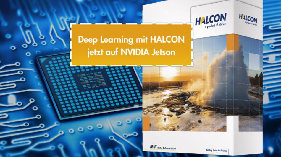 Das Embedded-Board Jetson TX2 von Nvidia ermöglicht jetzt Deep Learning mit der Bildverarbeitungs-Software Halcon.