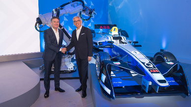 ABB steigt bei FIA Formel E ein