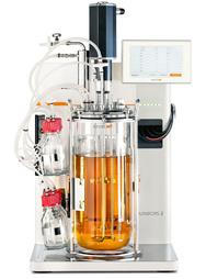 Ideale Bedingungen auf engstem Raum: Der Minifors 2 ist eine eher kleiner Bioreaktor, der hauptsächlich an Hochschulen zum Einsatz kommt.