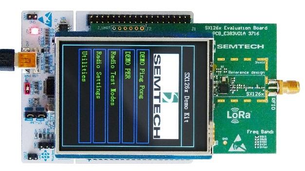 Zur schnelleren Entwicklung stellt Semtech diverse Development Kits zur Verfügung.