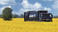 Lkw der Alba Group.