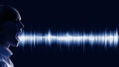 Sprache Schallwellen