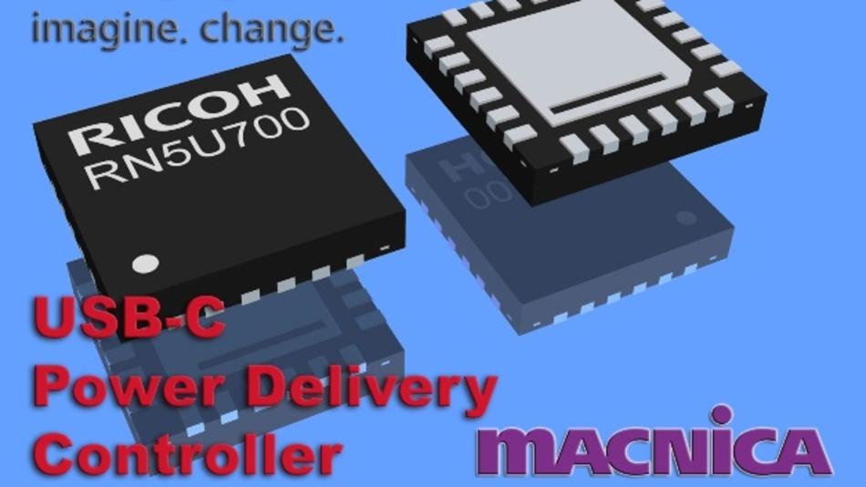 RN5U700, ein IC zur Stromversorgung und/oder zum Laden unterschiedlichster Geräte