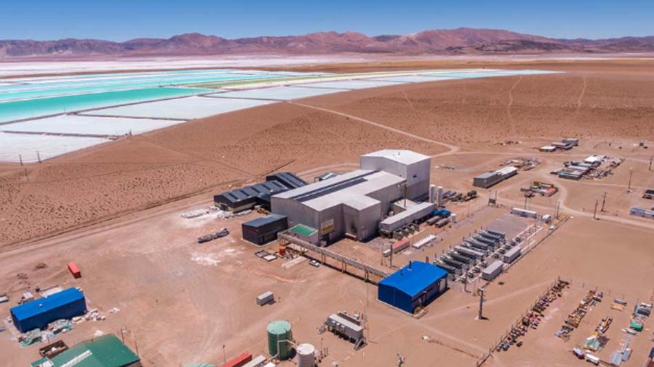 In diesem Jahr will Orocobre 14.000 t Lithiumcarbonat aus dem Salzsee Salar de Olares in Argentinien gewinnen und die Produktion 2019 auf 42.000 t steigern. Das Explorationsziel liegt zwischen 1,6 und 7,5 Mio. t.