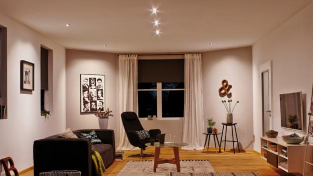 Licht aus der decke einbaustrahler sparsame allesk nner - Wohnzimmer licht aus ...