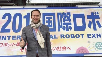 Georg Stieler auf der IREX 2017 in Japan