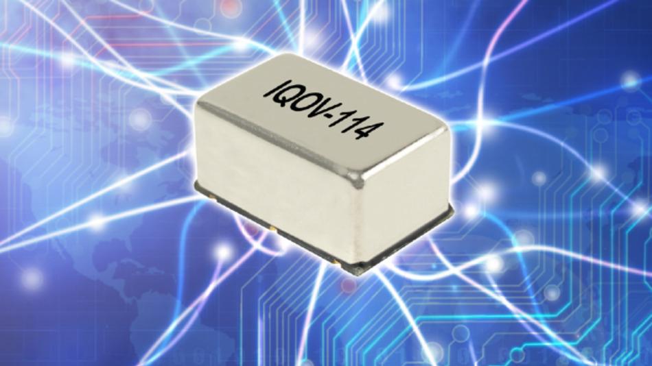Von 8,192 bis 30,72 MHz reicht der Frequenzbereich von IQDs OCXO IQOV-114.