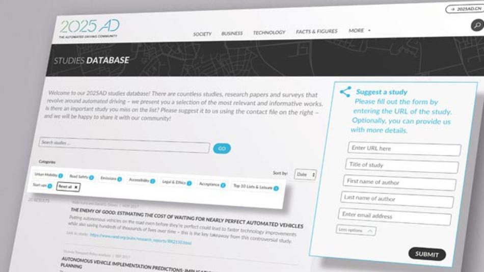 2025AD.com-Nutzer können aktuelle Studien hinzufügen und wissenschaftliche Ergebnisse einem breiten Publikum vorstellen.